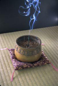 inscense for japanese tea